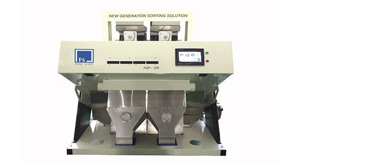 2-chute color sorting machine